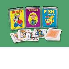 Paper Mini Playing Cards Hearts, Old Maid, Fish 12 Pc Party Favors (85/868)