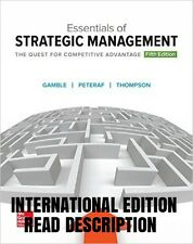 NEW Essentials of Strategic Management (5th Edition) (International Edition)