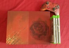 Limited Edition Gears of War 4 Xbox One S 2TB Console w/ 3 games!