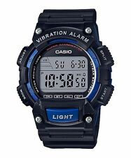 W-736H-2A Blue Casio Men's Watches Resin Band Sport Brand-New 10-YEAR BATTERY