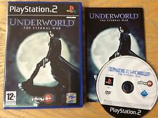 Underworld The Eternal War Ps2 Game! Complete! Look At My Other Games!
