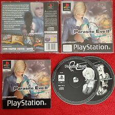 PARASITE EVE II (2) ORIGINAL BLACK LABEL SONY PLAYSTATION PS1 PS2 PAL HORROR