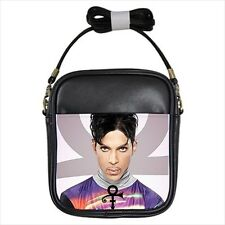 Cool Prince & Logo Collectible Leather Petite Sized Shoulder Sling Bag