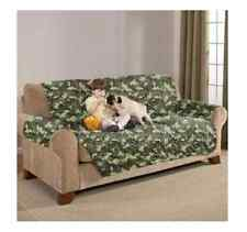 Kids Pet Proof Quilted Water Absorbent Reversible Washable Sofa Cover Protector