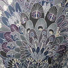 1.10m x 1.37m Liberty Prints Lawn 'Eben' Cotton Dress Crafts Fabric Greys Blue
