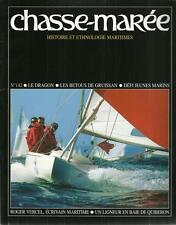 CHASSE MAREE N° 142 :  LE DRAGON - LES BETOUS DE GRUISSAN - ROGER VERCEL