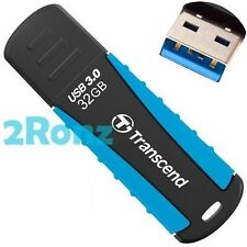 TRANSCEND JF810 32GB 32G USB 3.0 Flash Pen Drive Rubber Disk Jetflash Shockproof