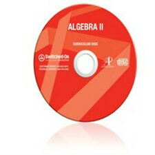 11th Grade SOS Math Algebra 2 Homeschool Curriculum CD Switched on Schoolhouse