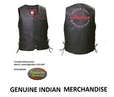 INDIAN MOTORCYCLE - 'LADIES' INDIAN VEST' Garment - Ladies' - MEDIUM (M)