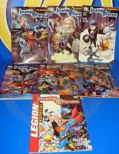 Lote de comics JOVENES TITANES numeros 1 al 6 + especial Legion