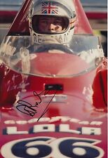 Brian Redman Hand Signed 12x8 Photo Lola F1 3.