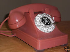 WESTERN ELECTRIC -  BELL TELEPHONE -  BELL SYSTEM - OLD ROSE 302 PHONE RESTORED