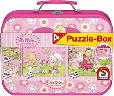 LOT 25698 | Schmidt Puzzle Lillebi: Puzzle-Box 3 Puzzle 60 - 100 Teile NEU OVP