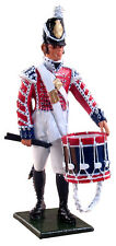 William Britains Redcoats Drummer, 2nd Coldstream Foot Guards 1812-1815  44013