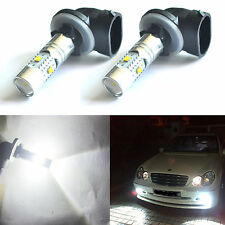 2x 881 6000K White 25W CREE LED Fog Light Driving DRL Bulb 886 889 High Power