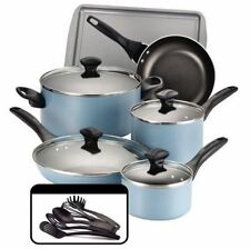 Cooking Set Pots and Pans Kitchen Nonstick Cookware Dishwasher Oven Farberware