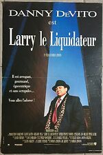 Affiche LARRY LE LIQUIDATEUR Other people's money DANNY DE VITO 40x60cm *