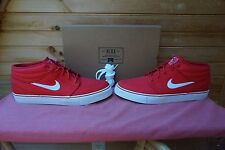 Nike Zoom Stefan Janoski Mid University Red White Size 9 (655A)