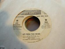 "JIMI HENDRIX up from skies / one rainy wish ( rock ) 7"" / 45 - PROMO -"