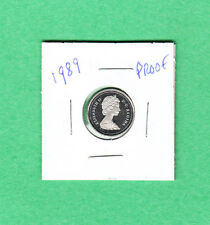 1989 Canadian 10 Cent Dime From the Proof Set