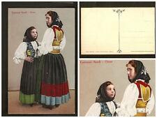 Cartolina Sardegna, Costumi Sardi Orune