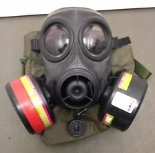 FM12 Twin Filter Rubber Respirator Mask SAS UKSF Issue Special Forces