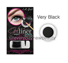 LA L.A. Girl Water Resistant Gel liner Kit - Very Black