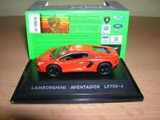 Welly Lamborghini Aventador LP700-4 / LP 700-4 arancione scuro Metallo, 1:87 H0