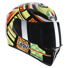 CASCO INTEGRALE AGV K3 K-3 SV REPLICA ELEMENTS VALENTINO ROSSI TAGLIA L