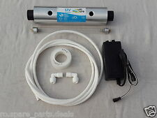 "For RO/UV Water Filter Purifier 8"" Philips UV Lamp (11W)+Barrel+Adapter+Pipe"