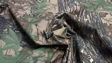 """REALTREE ORIGINAL VINTAGE 59""""W COTTON SHIRTING CAMOUFLAGE FABRIC BY THE YARD"""