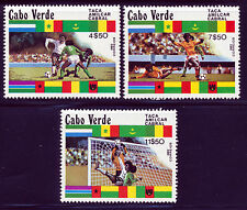 CAPE VERDE 1982 SOCCER SET SCOTT 443-45
