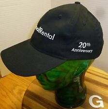 THE HOME DEPOT, TOOL RENTAL BLACK, VELCRO STRAP HAT, 20TH ANNIVERSARY, OSFM GUC!