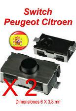 2X mando a distanci Peugeot 206 307 406 Citroen xsara C3 C5 SECCIONADOR