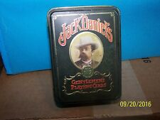 Jack Daniels Old No 7 Gentlemen's Playing Cards in Collectible Tin 2 Decks