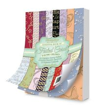 "Hunkydory ESSENTIAL BOOK OF FOILED CARD 7x 5"" 40 Sheets FOR CHILDREN EBK112"