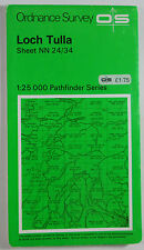1974 vintage OS Ordnance Survey Second Series Pathfinder Map Loch Tulla NN 24/34