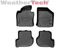 WeatherTech® FloorLiner for VW Golf/GTI with Oval Retention - 2010-2014 - Black