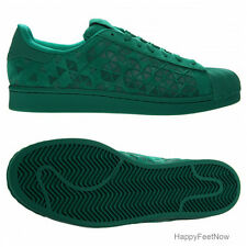 ADIDAS ORIGINALS SUPERSTAR XENO REFLECTIVE SHOES MEN'S SIZE US 10.5 GREEN AQ8180