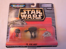Star Wars Micro Machines Set IV 1997 Imperial Probot Imperial AT-AT Snowspeeder