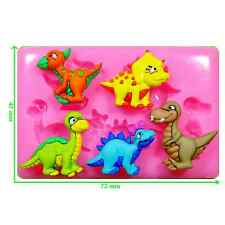 Dinky Dinosaurs Mould by Fairie Blessings