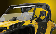 CAN-AM COMMANDER 800/1000 (All Models) HALF WINDSHIELD w/ Stereo Housing Cutout