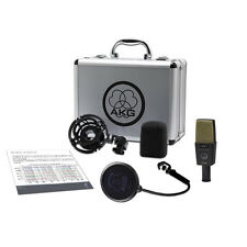 AKG C414 XLII Reference Multipattern Condenser Vocal Solo Instrument Microphone
