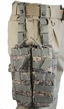 New ACU UCP Drop Leg MOLLE Webbing M4 Mag Pouch