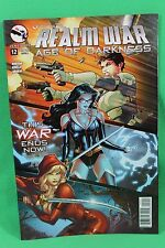 Grimm Fairy Tales GFT Realm War #12 Age of Darkness Cover A Comic Zenescope VF
