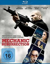 MECHANIC: RESURRECTION BD ( Jason Statham, Jessica Alba) BLU-RAY NEU