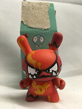 "Mist Red Devil Series 4 3/24 2007 Dunny Kidrobot Fatcap Graffiti 3"" Urban Vinyl"