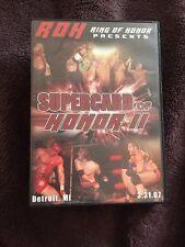 Ring of Honor Supercard of Honor II 2 ROH NXT NJPW PWG Beyond WWE OOP