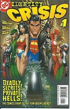 Identity Crisis #1 NM Michael Turner Cover Signed by Rags Morales Modern DC