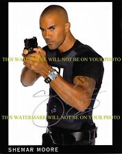 SHEMAR MOORE AUTOGRAPHED AUTO 8x10 RP PHOTO CRIMINAL MINDS AWESOME DUDE